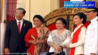 Tak Disangka, Ada Sylviana Murni Saat Ahok Dilantik Presiden Jokowi Jadi Gubernur DKI 2014