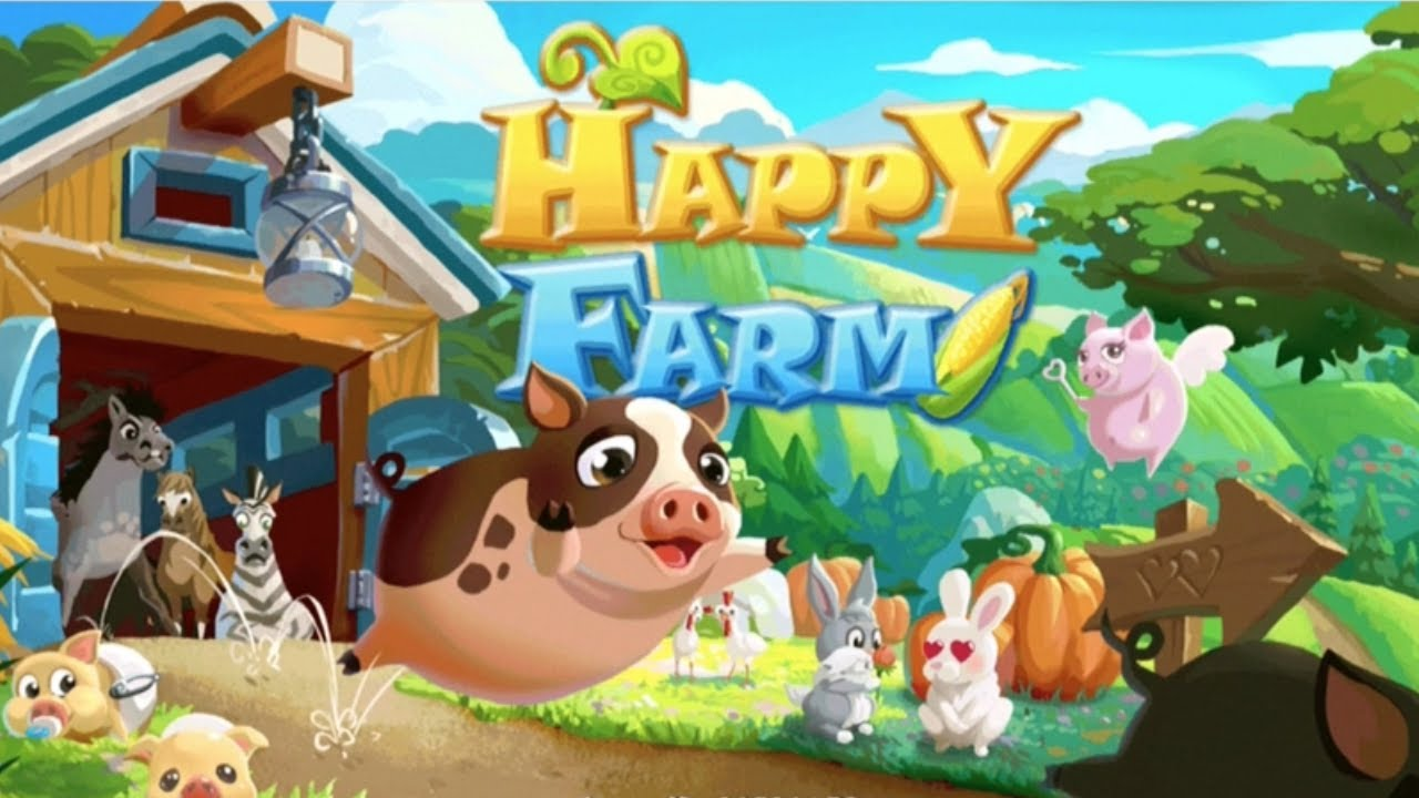 HAPPY FARM - Best Casual Games