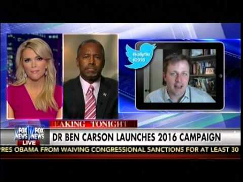 Dr Ben Carson Launches 2016 Campaign - The Kelly File