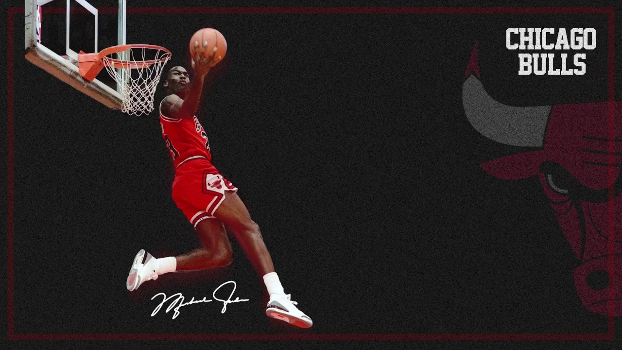 Michael Jordan 4k Wallpaper Speedart Youtube