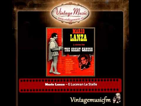 Mario Lanza – E Lucevan Le Stelle (La Tosca Of Puccini) (The Great Caruso)