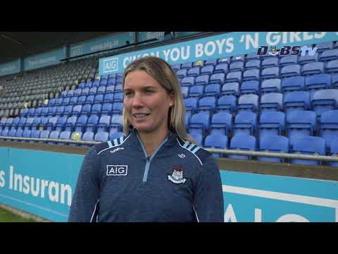 Jennifer Dunne chats to DubsTV at AIG's launch of Dublin's 2020 Championship season