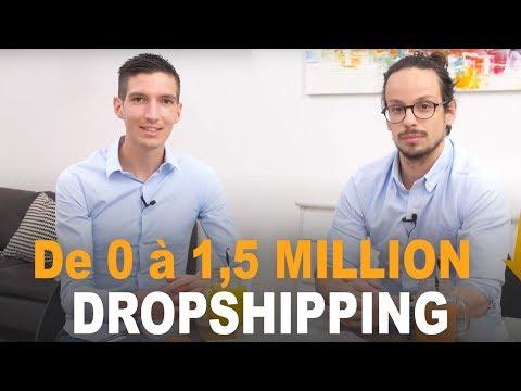 De 0 à 1,5 MILLIONS de CA en 8 MOIS ! DROPSHIPPING - HISTOIRE INSPIRANTE