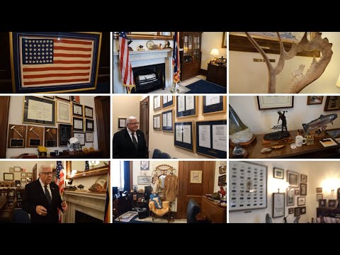 Tour Of Senator Enzi's D.C. Office