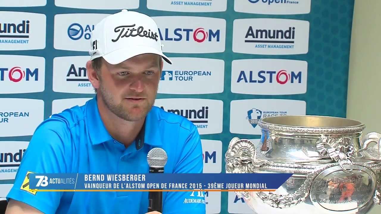 Golf : l'Autrichien Bernd Wiesberger remporte l'Open de France