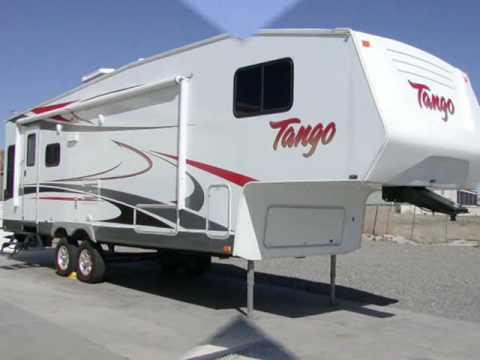 2008 used tango 2760rlss fifth wheel for sale arizona youtube. Black Bedroom Furniture Sets. Home Design Ideas