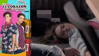 El corazón nunca se equivoca - Capítulo 5: ¡Carlota y Thiago sufren un accidente! | Televisa