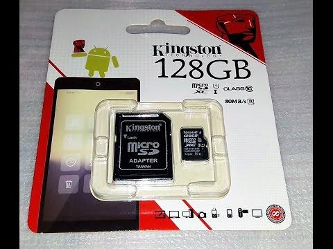 Kingston Micro Sdxc 128gb Uhs I Class 10 Memory Card