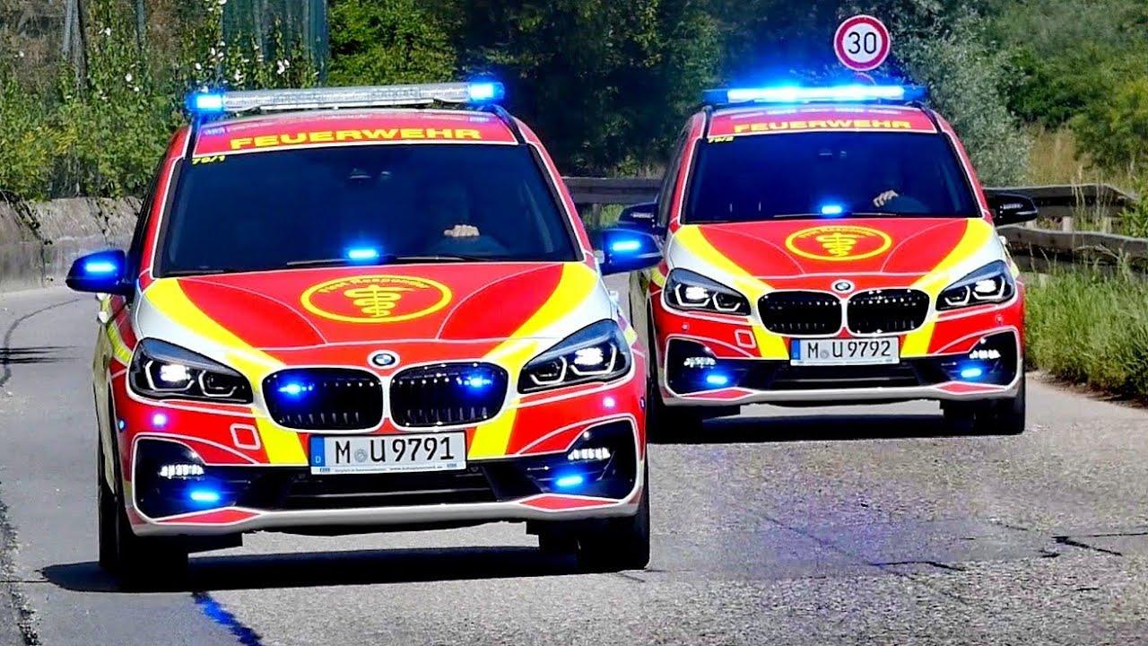 Neues Doppelpack - First Responder 1 & 2 Freiwillige Feuerwehr Unterschleißheim