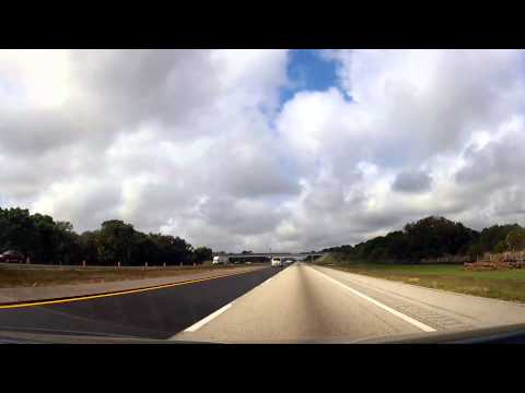 Driving from Fort Myers to Zephyrhills, Florida on I75
