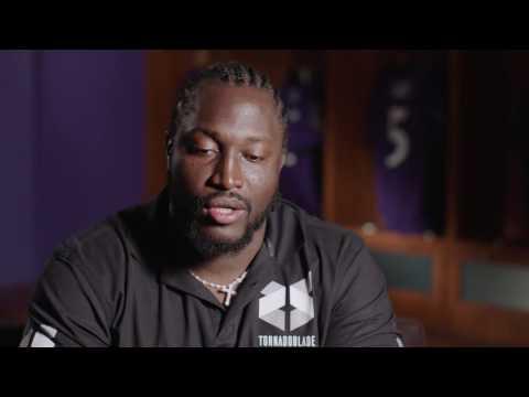 Stephane Nembot Speaks In African Dialect | Baltimore Ravens