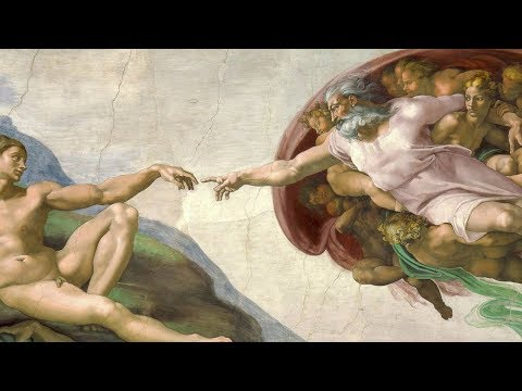 Сотворение Адама, Микеланджело Буонарроти