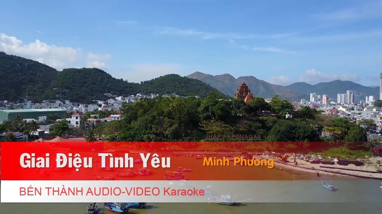 KARAOKE NHẠC TRẺ 2018 | Giai Điệu Tình Yêu - Minh Phương | Beat Chuẩn