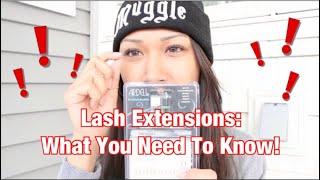Individual Eyelash Extensions | awkwardflowers Thumbnail