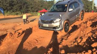 Fortuner 4*4 automatic off road