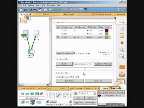 Using Packet Tracer Create A Logical Network Diagram With Two Pcs
