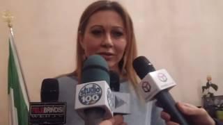Angela Carluccio, conferenza su dimissioni Errico