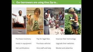 Kiva Zip: 0% Interest Loans for Farmers and Food Businesses