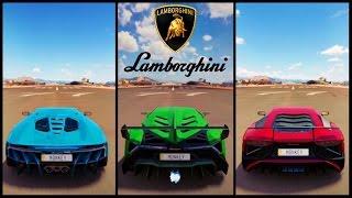 Forza Horizon 3 Lamborghini Videos