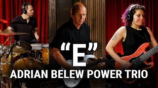 "Meinl Cymbals - The Adrian Belew Power Trio - ""E"""