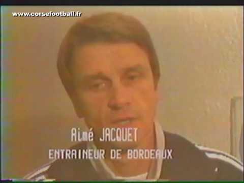 Bastia 1 - 3 Bordeaux  (19-11-1983)   Division 1