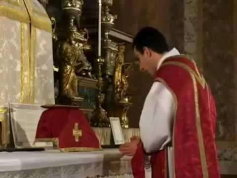 Come Servire La Messa.La Santa Messa Tridentina Youtube