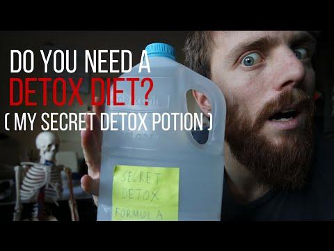 Do you need a Detox Diet?( My secret detox potion)