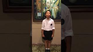 耀中國際學校-高小組-演講「談參與課外活動的看法」