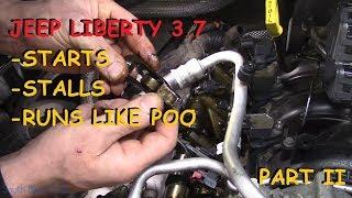 Jeep Liberty: Cranks, Starts, Stalls, Runs Rough- Part II