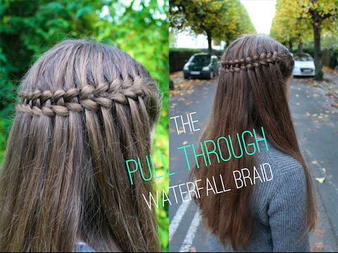 How to do the Pull Through/Scissor Waterfall Braid