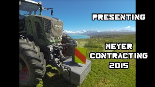 MEYER CONTRACTING 2015 SILAGE NEW ZEALAND... Silage In The Sun! ( GoPro 1080 HD )