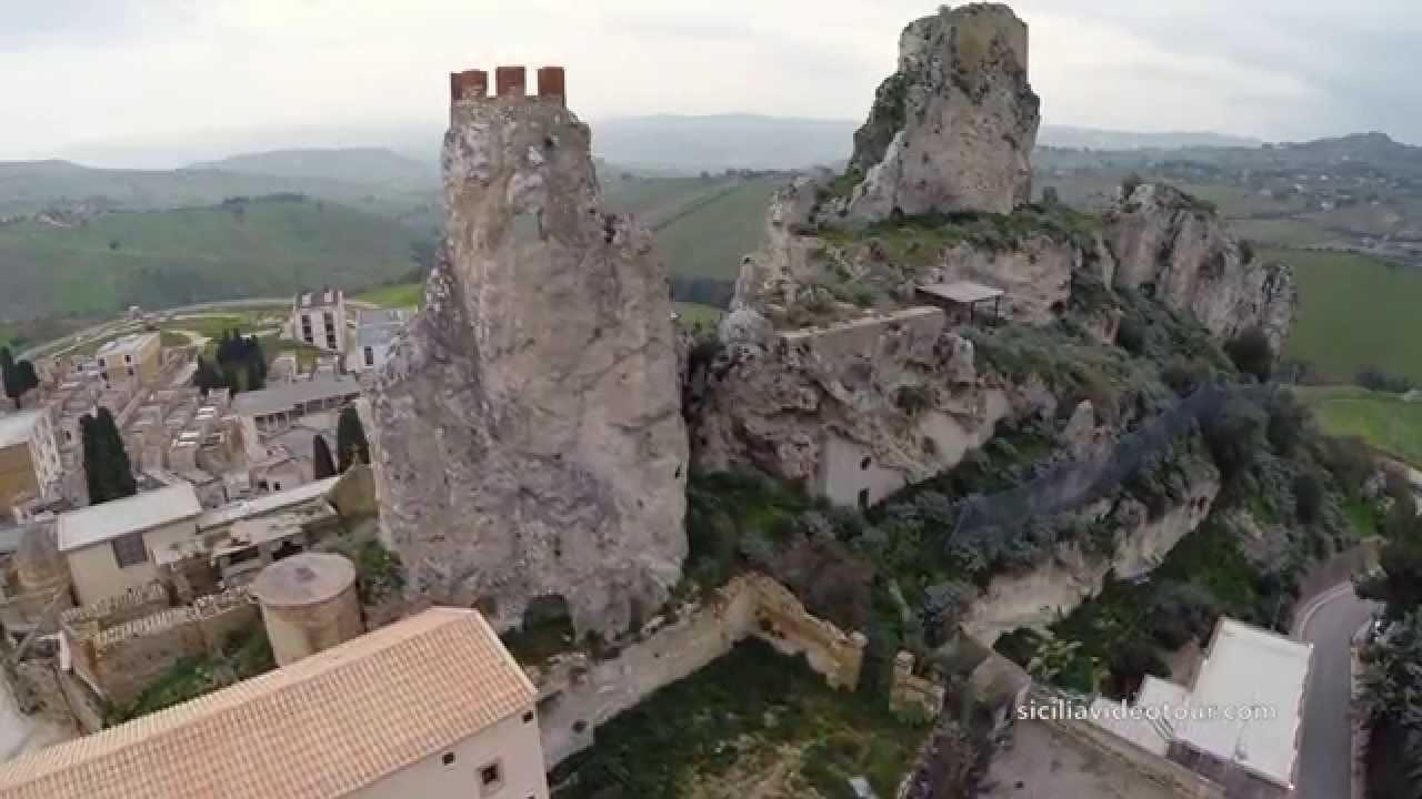 Castello di pietrarossa caltanissetta youtube for Castello come piani di casa