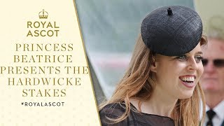 Royal Ascot 2017: Princess Beatrice presents The Hardwicke Stakes