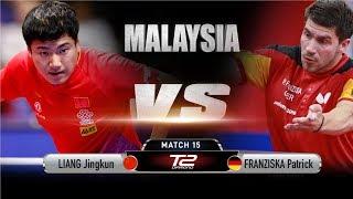 Liang Jingkun vs Patrick Franziska | R16 | T2 Diamond Malaysia