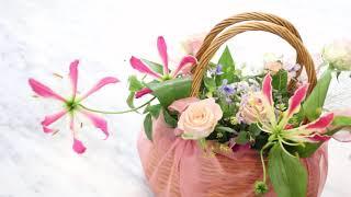 교대역꽃집 예비시댁 인사선물 보자기꽃바구니