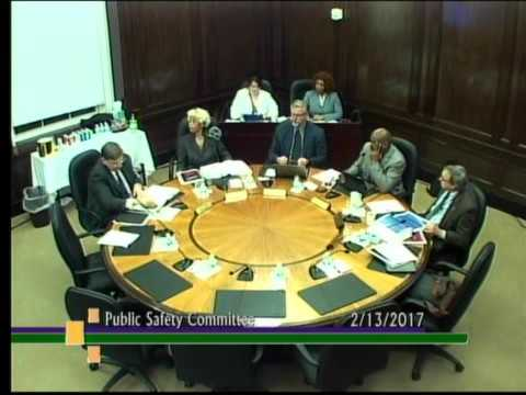 Public Safety Committee February 2017