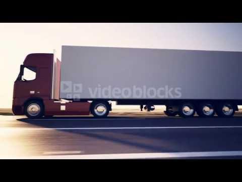 Truck Tir On Road Delivery Cargo Transportation Highway Freight Logistics Lorry Sdjpgulu  PM