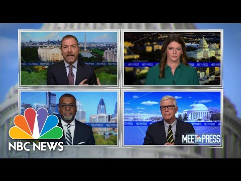 Full Panel: 'An Unmitigated Disaster' As COVID Infections Spike | Meet The Press | NBC News