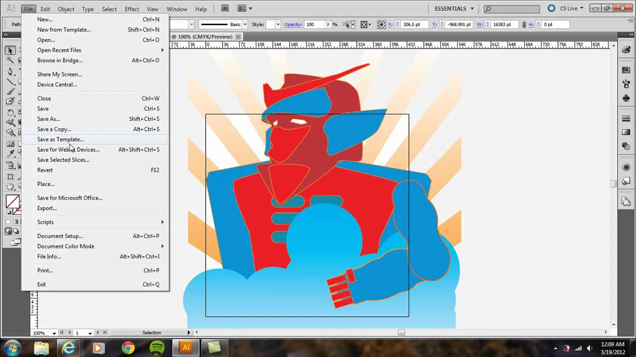 How to crop a photo in adobe illustrator cs6