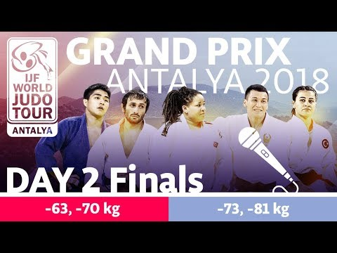 Judo Grand-Prix Antalya 2018: Day 2 - Final Block