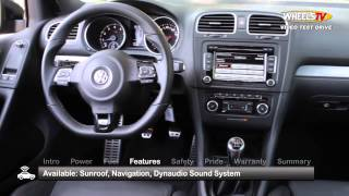 Volkswagen Golf R Test Drive