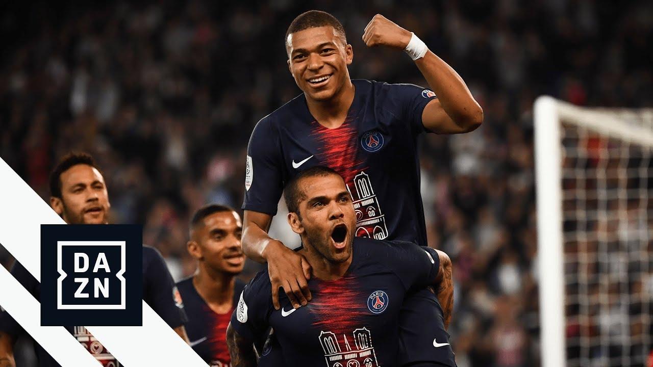 Highlights Psg Vs Monaco Ligue 1 2018 19 Youtube