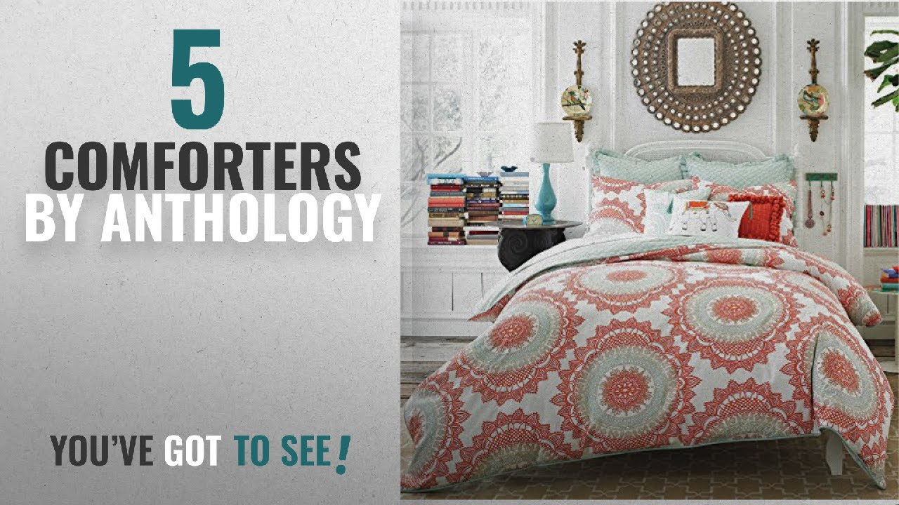 Top 10 Anthology Comforters 2018 Anthology Bungalow Queen Full
