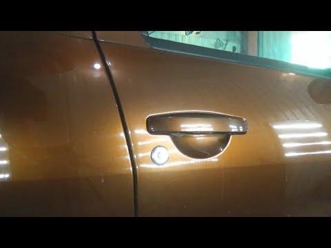 Как снять наружные дверные ручки. Renault Duster (Рено Дастер).