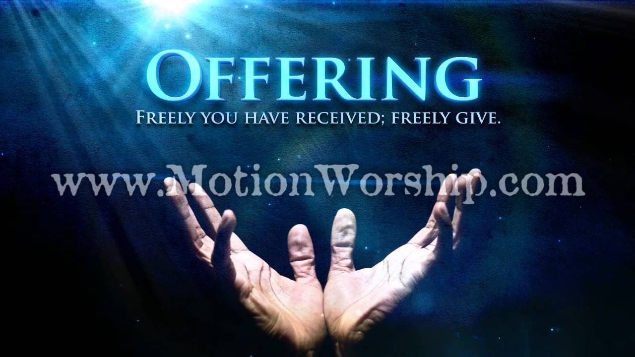 offering hands giving hd worship video background   youtube