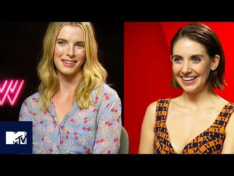 Alison Brie & The Cast Of GLOW Play Would You Rather WRESTLING Edition!  MTV Movies