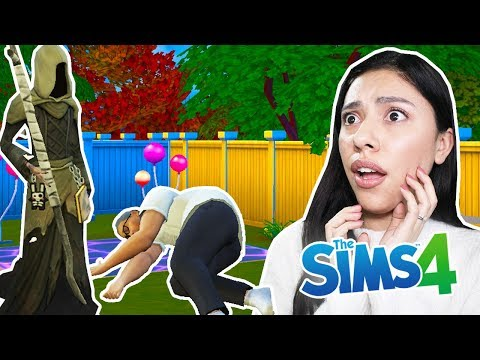 MY HUSBAND IS DEAD! - The Sims 4 - My Sims Life |