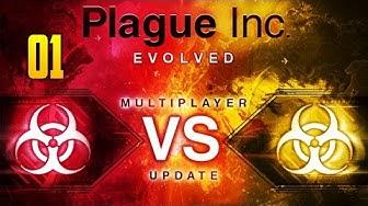 PLAGUE INC: EVOLVED #01 ★ MULTIPLAYER ★ LET'S PLAY PLAGUE INC: EVOLVED [GERMAN / DEUTSCH]