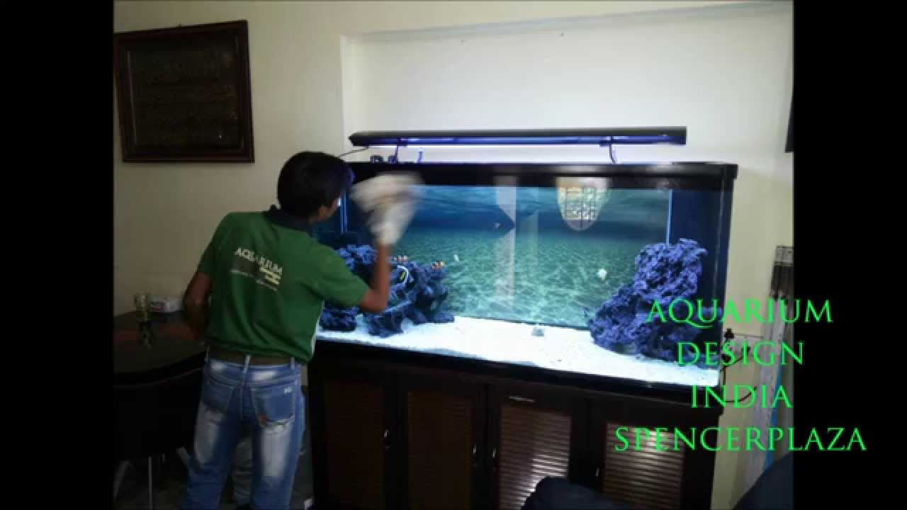 Fish aquarium price in pakistan - Marine Aquarium In Chennai Design By Jabbar Aquarium Design India Spencer Plaza