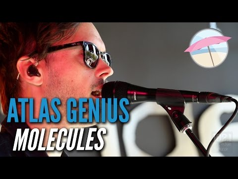 Atlas Genius - Molecules (Live At The Edge)